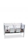 Gabbia conigli Primavera ingrasso - 1