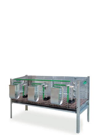 Belgium rabbits cage fattening Cm. 120 - 1