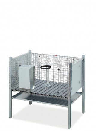 Rabbit cage for mating Sicily model - 1