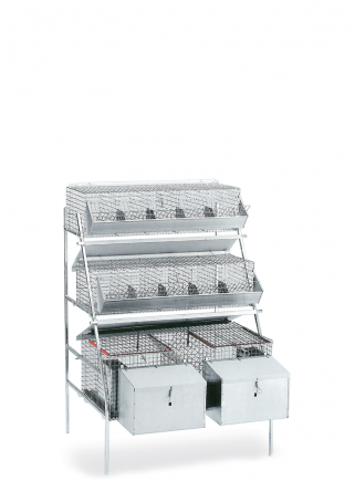 Mixed rabbit cage GM1 - 1