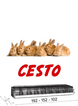 Cage rabbits fattening BASKET