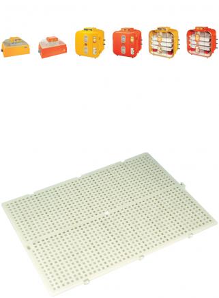 Egg tray bottom for hatchery 54 - 162 -108