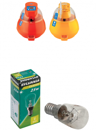 25W miniature lamp for digital covatutto 16L - 16L