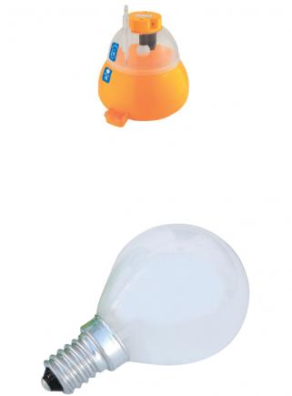60W E14 opal lamp for covatutto 16