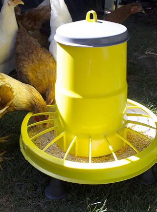 copy of Mangiatoia tramoggia plastica kg.15 polli