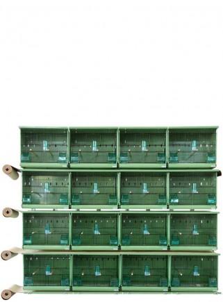 Batteria EVOLUTION 2710 verde a parete - 1