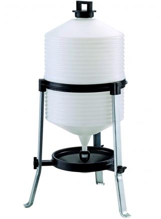 Saturn plastic drinker with siphon lt. 30 - 1