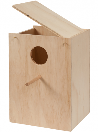 Nido legno Calopsite cm.26x25x33 h. - 1