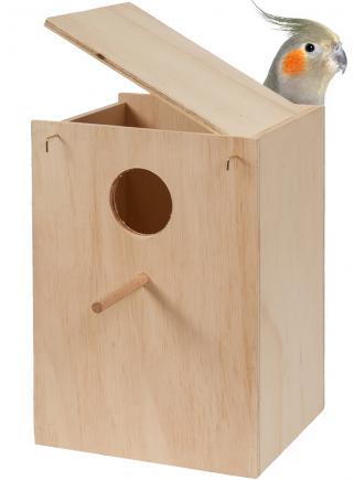 Nido legno Calopsite cm.26x25x33 h.