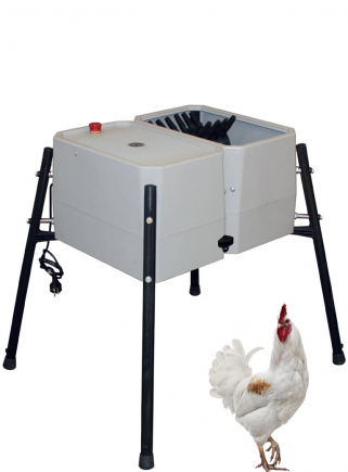 Esterina plucking machine in ABS 24 fingers for chickens - 1