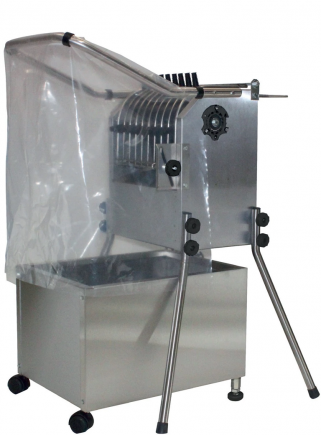 Esterina INOX 36 fingers plucking machine with grill and stainless steel tank for chickens - 1