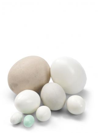 Uova piccole diam.cm.1,3 x 1,6 h.