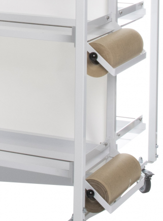 copy of Frame with wheels 8 breeding cages 58 paper system (frame only) - 2