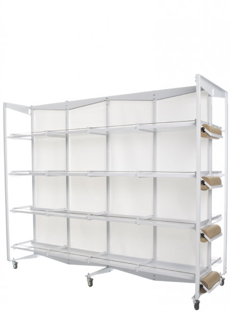 copy of Frame with wheels 8 breeding cages 58 paper system (frame only) - 1