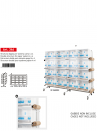 copy of Frame with wheels 8 breeding cages 58 paper system (frame only) - 4