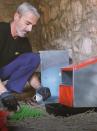 Open PLATIN hen nest - 5