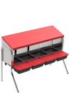 copy of PLATIN hen nest + supports - 1