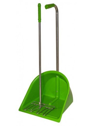 Dustpan complete with rake