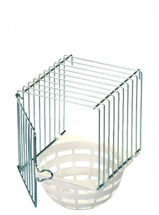 Nido esterno ferro/plastica diametro cm.10 - 1