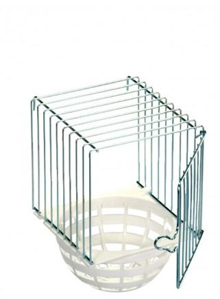 Nido esterno ferro/plastica diametro cm.10
