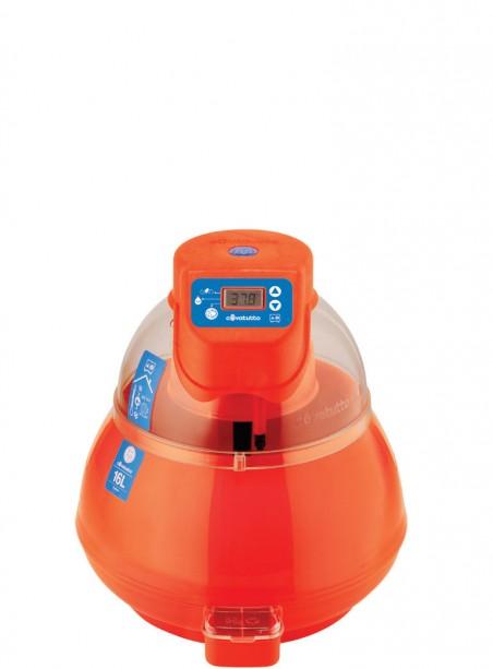 16L digital incubator with automatic egg turner - 1