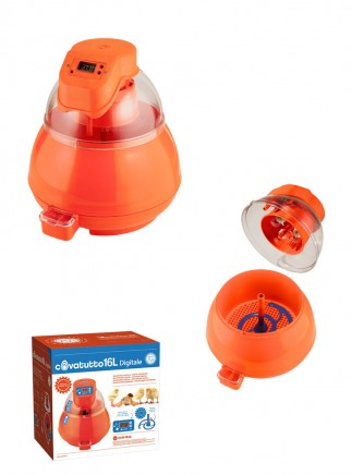 16L digital incubator with automatic egg turner - 3