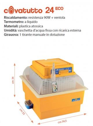 Analog 24 ECO incubator