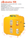 Incubatrice 108 analogica - 2