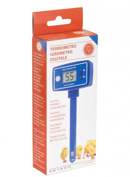 Digital thermohygrometer for covatutto incubator - 1