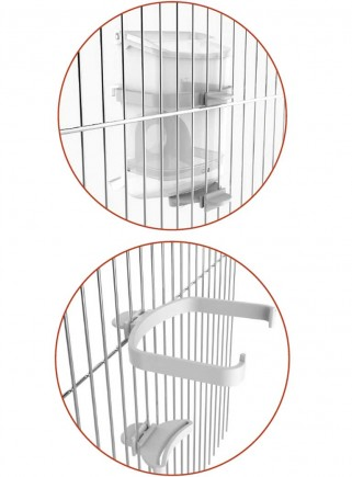 Supports for internal Mang cage attachment. Eclipse