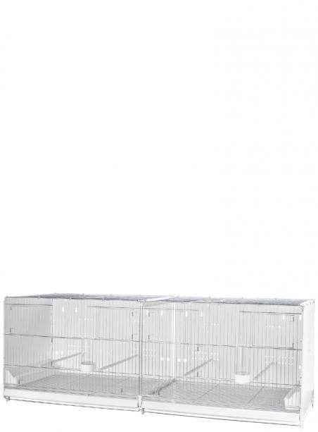 Gabbia cova cm.120 Sestriere zincata laterali e retro chiusi - 1