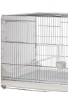 Hatching cage 120 cm Livigno galvanized with closed plastic sides - 3