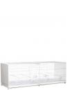 Gabbia cova cm.120 Bormio verniciata laterali in plastica chiusi - 2