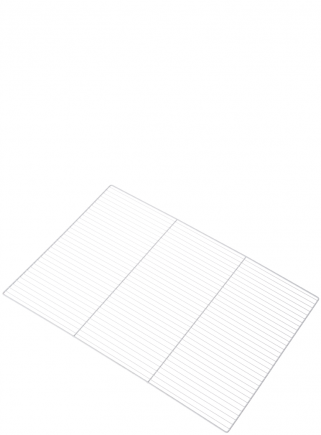 White grid for hatching cage 120 - 1 cm