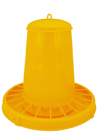 Mangiatoia tramoggia plastica kg.15 polli - 1