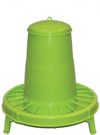 Plastic hopper feeder kg.15 with support - 1