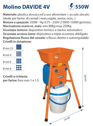 Mill DAVIDE 4V