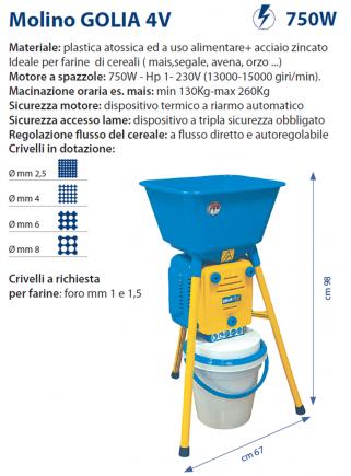 Molino GOLIA 4V