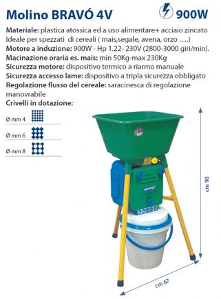 Molino BRAVO' 4V