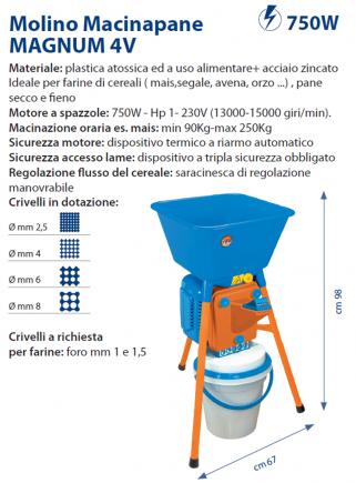 Molino MAGNUM 4V