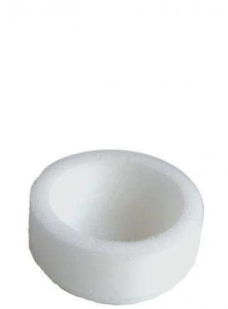 Nido in gommapiuma diametro cm.10
