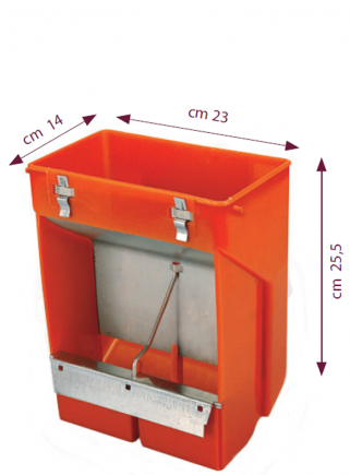 Feeder 2 compartments