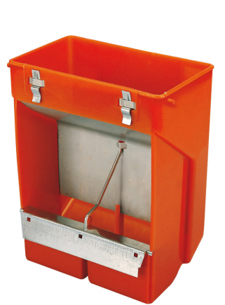 Feeder 2 compartments w / lid - 1