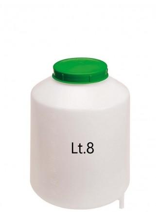 Serbatoio con filtro e uscita da lt.8 - 1
