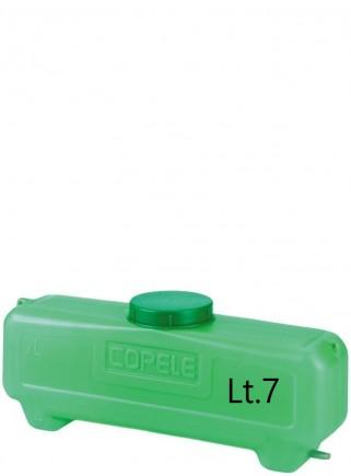 Serbatoio lt.7 con filtro e uscita Ø mm.10 - 1