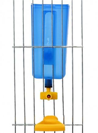 Abbeveratoio Acuabird con contenitore cc.200 con posatoio - 2