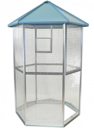 MAXI hexagonal aviary - 1