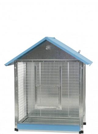 Mini Chalet aviary - 1
