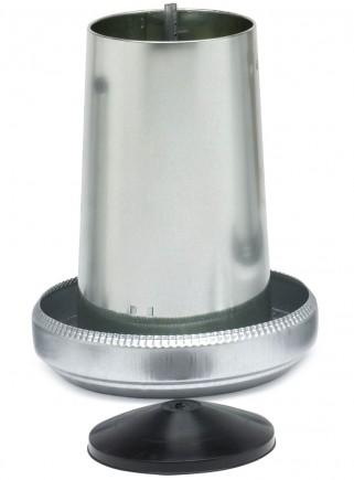 Mangiatoia tramoggia in lamiera kg.5 c/coperchio - 4