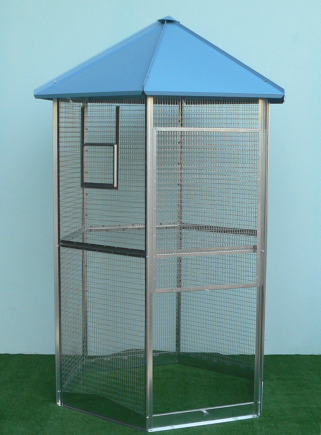 MAXI hexagonal aviary
